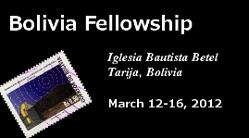 FBFI Bolivia Fellowship